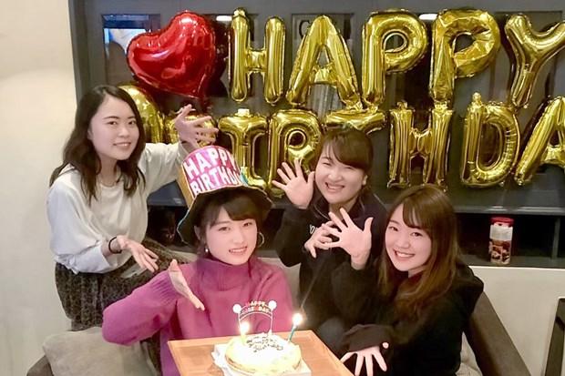 誕生日会ホールケーキ